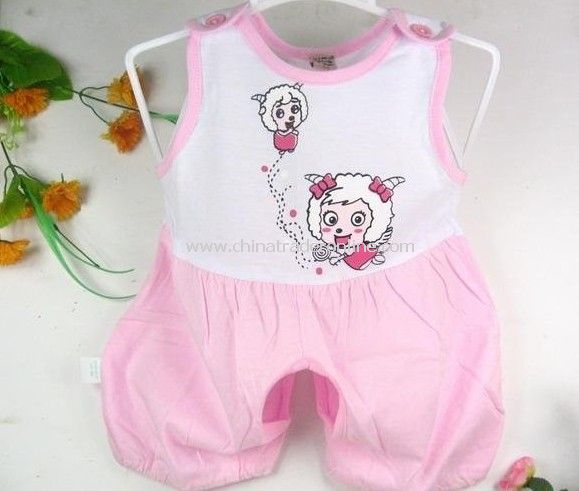 2011YUF Baby clothes, summer clothing, short, conjoined cotton clothes /infant apparel/ baby romper/15pieces/bag