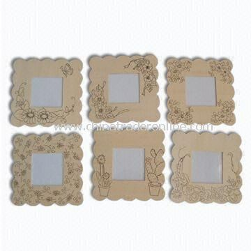 Wall Hangings for Room Decoration, Made of Solid Wood or MDF, Splinting Type