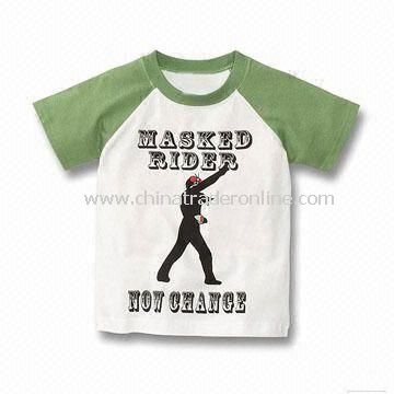 Baby T-shirt, Made of 100% Cotton, Available in Various Colors