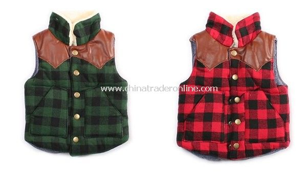 Binypig baby/infant/toddler winter waistcoat/vest