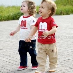 newest cotton baby short sleeve blouse /baby T-shirt