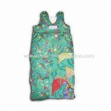 140gsm Babies Sleeping Bag with Embroidery Pattern, Made of 100% Cotton Shell and Lining