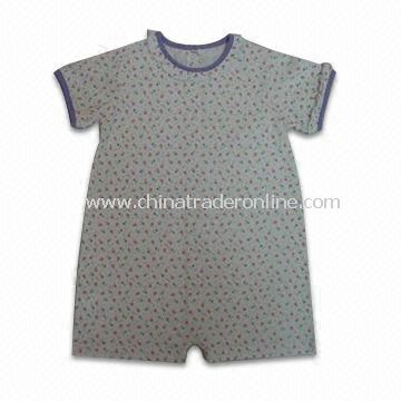 18m Babys/Girl Sleepwear, Made Of 100% Cotton Jersey 140gsm