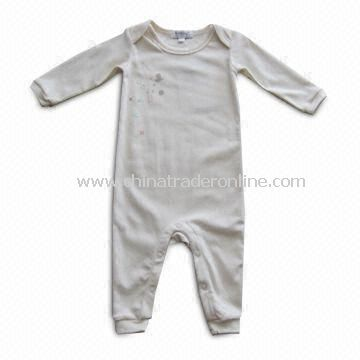 Baby Romper/Sleepwear, Made of 100% Organic Cotton