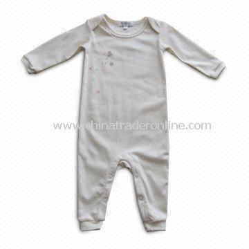 Baby Romper/Sleepwear, Made of 100% Organic Cotton