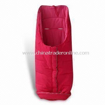 Baby Sleeping Bag, Made of 100% Cotton, Comes in Various Colors, OEM Orders Welcome