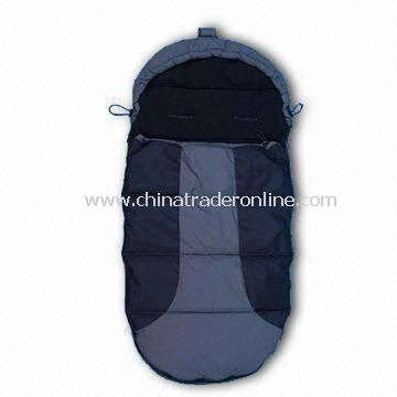 Baby Sleeping Bag/Footmuff for Stroller, Made of 500D Polyester Oxford from China