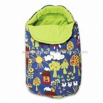 Baby Sleeping Bag/Stroller Bag with 300g Polar Fleece and Polyester Fleece Lining