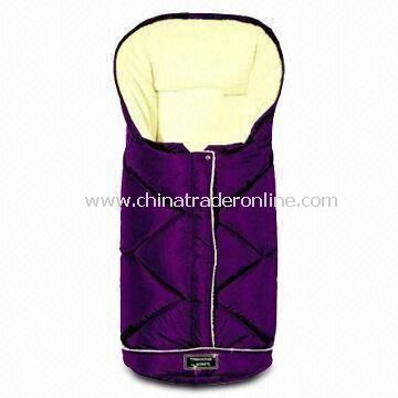 Baby Sleeping Bag with Waterproof Design and Polyester Wadding Filing