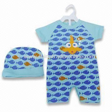 Baby Sleepwear, Available in Various Prints, Made of 100% Cotton