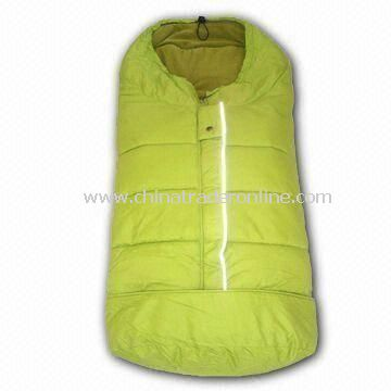 Waterproof Baby Sleeping Bag/Footmuff/Stroller Accessories, Made of 230T Nylon Taffeta from China