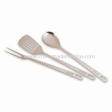 3-piece Serving Set, Made of Stainless Steel, Dishwasher Safe