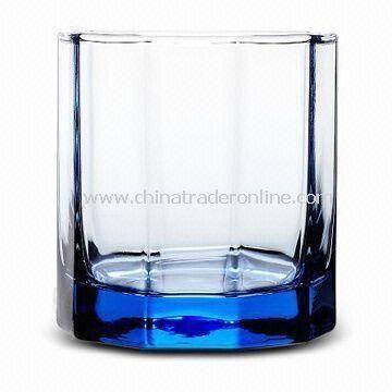 Decagonal Rocks Glass, Measures 7.9 x 7.85 x 8.7cm, with 315mL Capacity