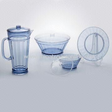 Jug with Tumlber and Salad Bowls, Made of MS