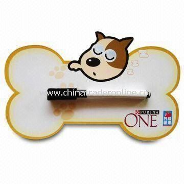 Memo Board with Wipe Pen, Made of Paper and Soft Magnet, Customized Designs and Logos are Accepted