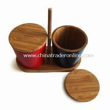 Spice Rack, Made of Full Natural Bamboo, Eco-friendly