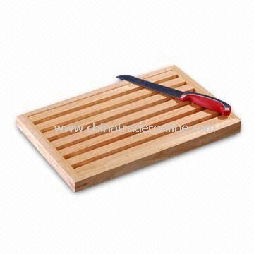 Cutting Board, Made of Wooden Material, Different Sizes Available