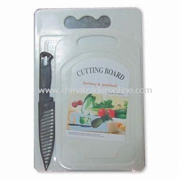 Cutting Board, Measures 30 x 30 x 0.4cm, Made of Plastic