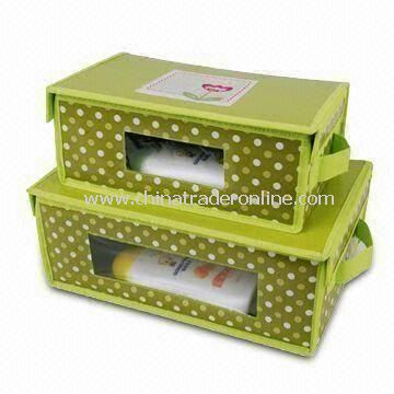 Drawer Storage Box, Eco-friendly and Healthy for Skin, Light and Handly, with Nonwoven Material