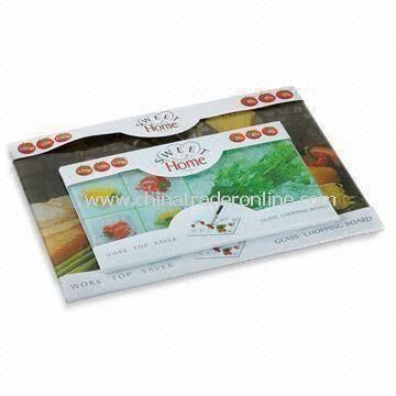 Glass Cutting Board with Easy Scouring, Used for Cutting, Preparing and Serving Food