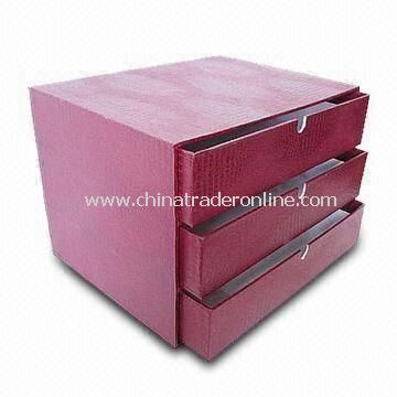 Pink Durable Closet Drawer Organizer, Made of Cardboard, Customized Labels and Logos are Accepted