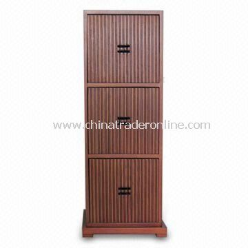Wooden Cabinet with Four Drawers, Measuring 21 x 16.5 x 55cm