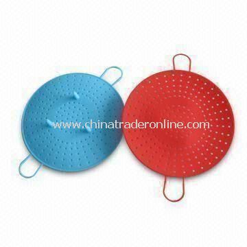 Silicone Food Steamers with Top Rack Dishwasher Safe and Fits in Small and Medium Sized Pots from China