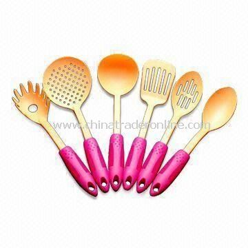 Nylon Flatware, Comes in Orange, Multicolor are Available, with Up to +240°C Heat Resistance