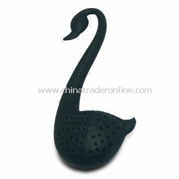 Swan Tea Strainer Teaspoon, Various Colors and Designs are Available