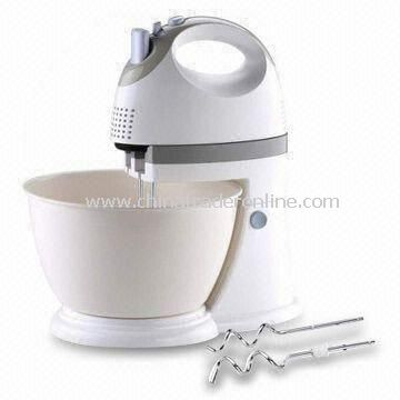 350W Whisk with 4L Self-rotating Bowl and Stand