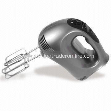 Digital Control Hand Mixer with LED Display and 300W Powerful Motor