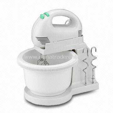 Hand Mixer with Stand & Bowl