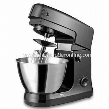 High Power Stand Mixer with Stainless Steel Bowl, RoHS Directive-compliant