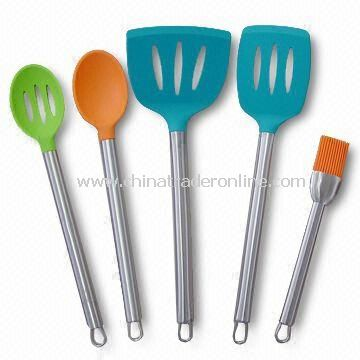 Silicone Kitchen Utensils 5PCS Set