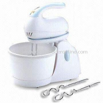 Whisk/Hand Mixer with 2.5L Self-rotating Bowl and 3 Speeds