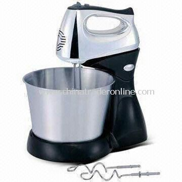Whisk with Bowl, Chrome-plated Body and 150W Power