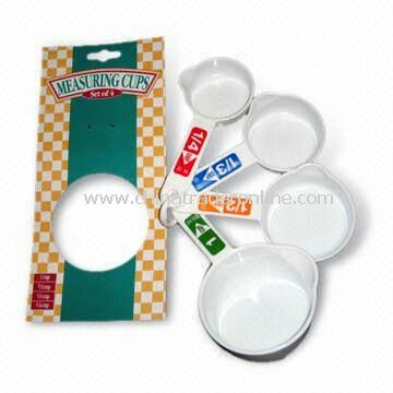 Four-piece Measuring Cup Set, Various Sizes Available