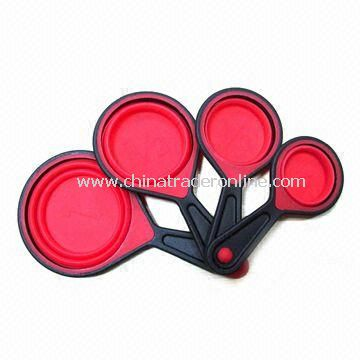 Silicone Measuring Cup, Available in 4 Different Sizes
