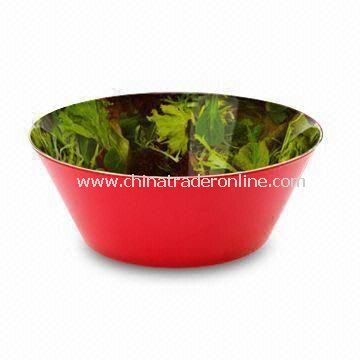 100% Melamine Popcorn Bowl/Candy Bowl, Customized Designs and Colors are Accepted