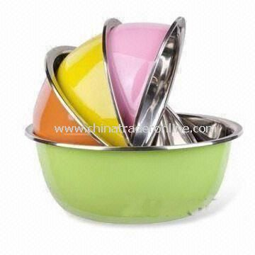 26cm Bowl, Made of Stainless Steel, Available in Various Colors