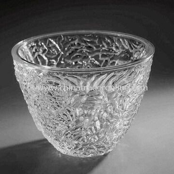 Acrylic Serving Bowl, Measures 28.0 x 19.0cm, with 4-piece Case Pack