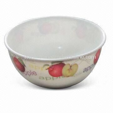 Bowl with Printing, Available in Size of 15.3 x 8cm