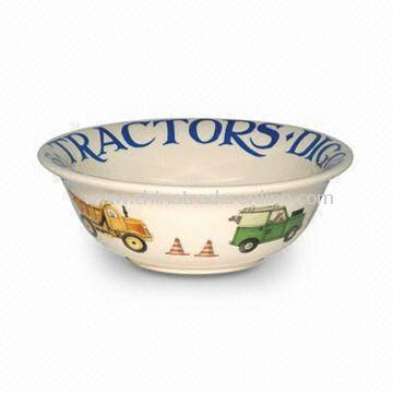 Breakfast/Cereal Bowl, Made by White Porcelain, OEM Orders are Welcome