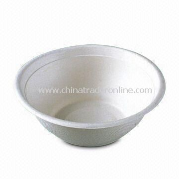 Disposable Bowl, Made of Plastic Material