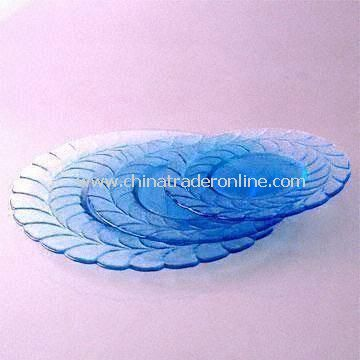 Glass Plates Available in Various Sizes and Colors