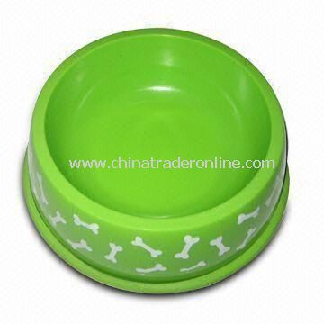Pet Feeder/Pet Bowl, Made of Melamine Plastics, FDA Standard