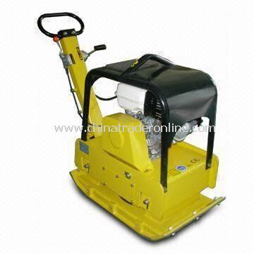 Reversible Plate Compactor with 370mm Working Width, 5.0hp Robin Engine
