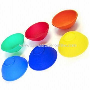 Silicone Pinch Bowl Set, Available in Various Colors and Sizes