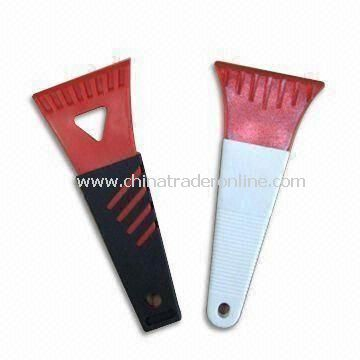 Ice Scrapers with PVC Handle, Made of ABS/AS, Available in Various Colors
