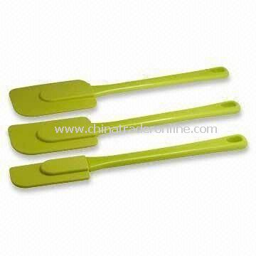 Silicone Spatulas with 27.5cm Length, FDA and LFGB Approvals